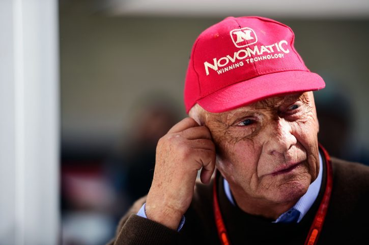 Niki Lauda admitted to hospital with flu five months after lung transplant