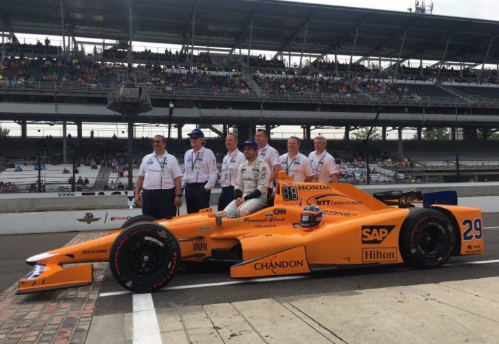 mclaren-honda sponsors get a free ride at the indy 500