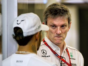 Lewis is a 'machine', says Mercedes' James Allison