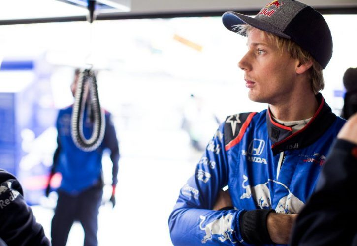 Brendon Hartley axed by Formula One team Toro Rosso