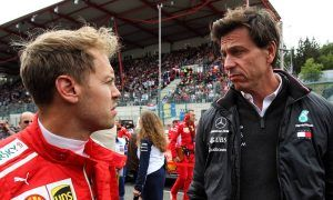 Wolff laments grid penalty handed to Vettel