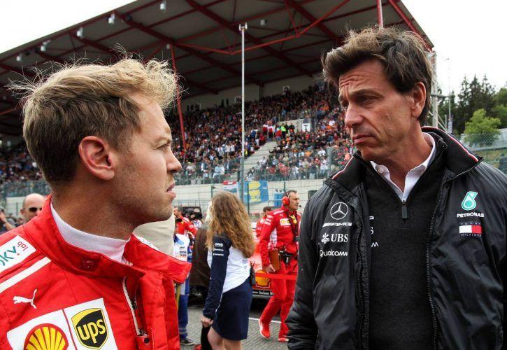 Sebastian Vettel backed by rivals over 'harsh' US GP grid penalty