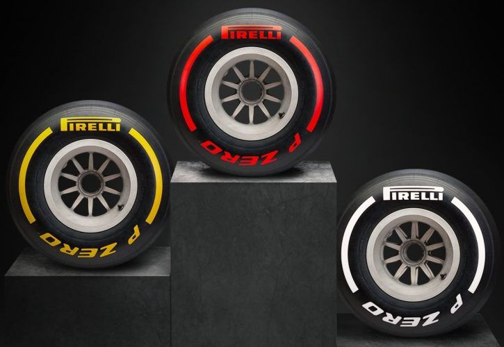 Pirelli simplifies tyre colours for 2019
