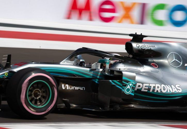 Britain's Hamilton celebrates fifth F1 title as Verstappen wins in Mexico