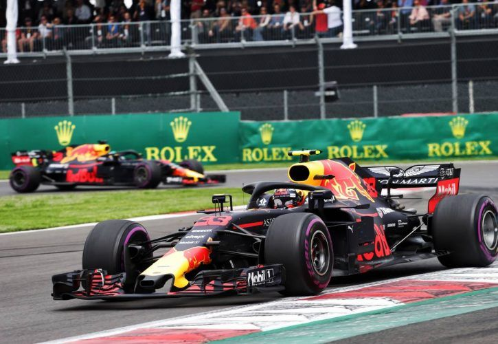'Anger' at Daniel Ricciardo powered Verstappen's Mexican win - father