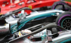 Hamilton: Mercedes prevailed against Ferrari in 'psychological war'