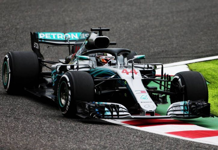 Hamilton heaps more pressure on Vettel with practice double in Japan