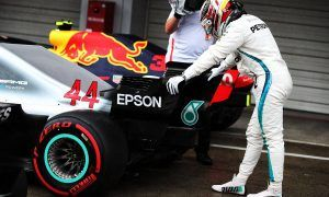 Hamilton credits team for 'unbelievable' 80th pole position
