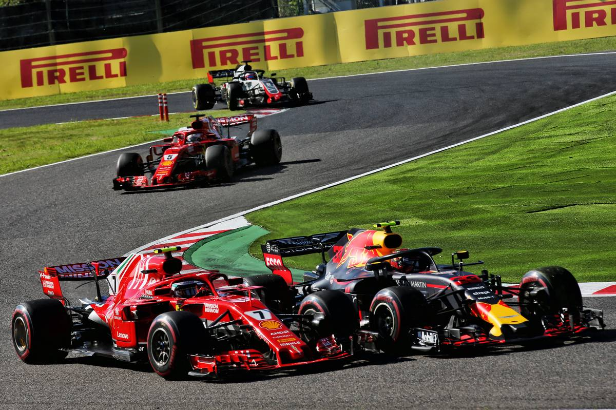 Vettel: Verstappen completely to blame for F1 Japanese GP collision