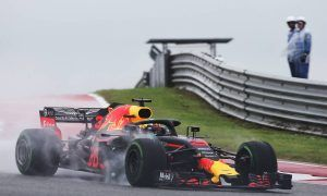 Ricciardo sees 'a lottery' on Sunday if poor weather persists