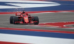 Vettel and Raikkonen take charge as Austin dries up for FP3