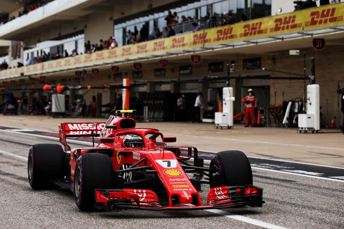 Hamilton Hangs On To Pip Vettel Pole Position In Austin Expects Indian Circuit Be Secondfastest F1 Track United States Grand Prix Kimi Raikkonen Fin Ferrari Sf71h