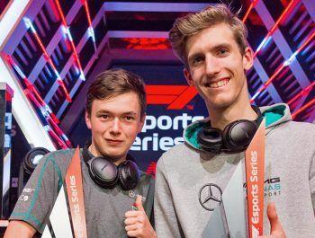 Leigh retains F1 eSport crown, Mercedes takes team title