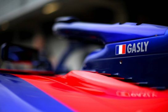 Pierre Gasly (FRA) Scuderia Toro Rosso  08.11.2018. Formula 1 World Championship, Rd 20, Brazilian Grand Prix, Sao Paulo, Brazil, Preparation Day. - www.xpbimages.com, EMail: requests@xpbimages.com - copy of publication required for printed pictures. Every used picture is fee-liable. © Copyright: Charniaux / XPB Images