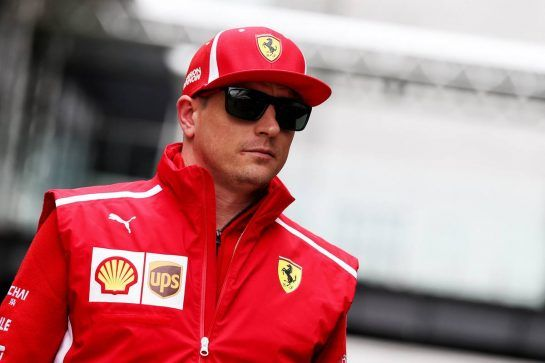 Kimi Raikkonen (FIN) Ferrari. 08.11.2018. Formula 1 World Championship, Rd 20, Brazilian Grand Prix, Sao Paulo, Brazil, Preparation Day. - www.xpbimages.com, EMail: requests@xpbimages.com - copy of publication required for printed pictures. Every used picture is fee-liable. © Copyright: Batchelor / XPB Images