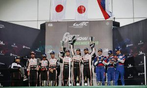 Alonso settles for second in soggy Shanghai WEC race