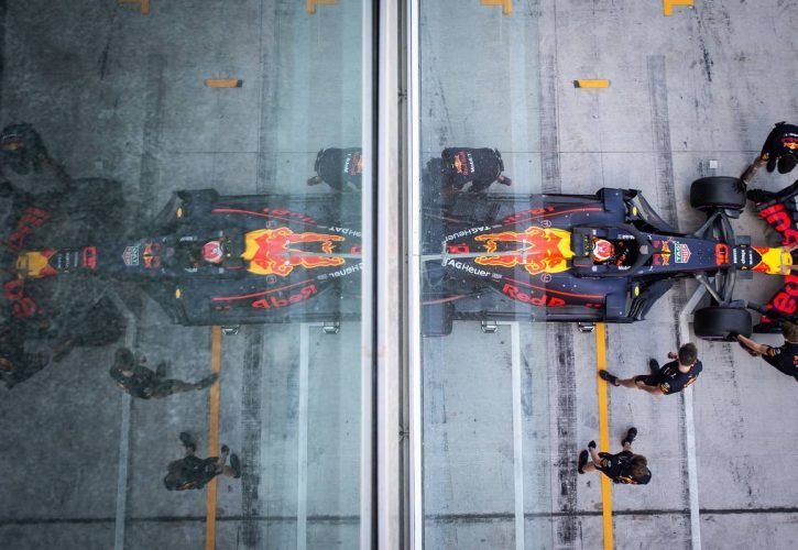 Red Bull Honda feels positive on simulator, says Max Verstappen
