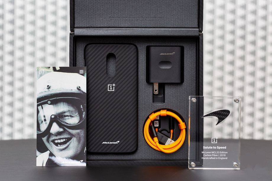 The OnePlus 6T McLaren edition packs 10GB of RAM