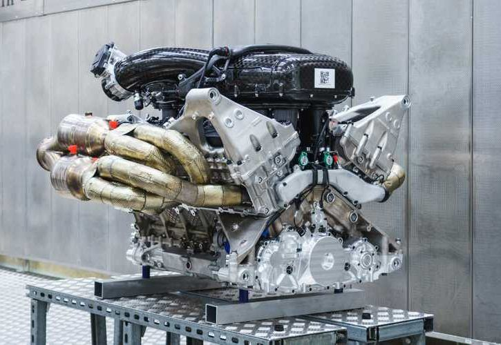 Aston Martin Officially Reveals Valkyrie's 1000HP V12 Engine