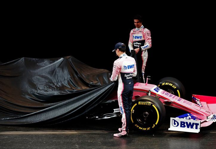 Stroll excited as new Racing Point unveils new car