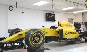 Tech F1i: A visit to Renault at Enstone - The Seven-post Rig