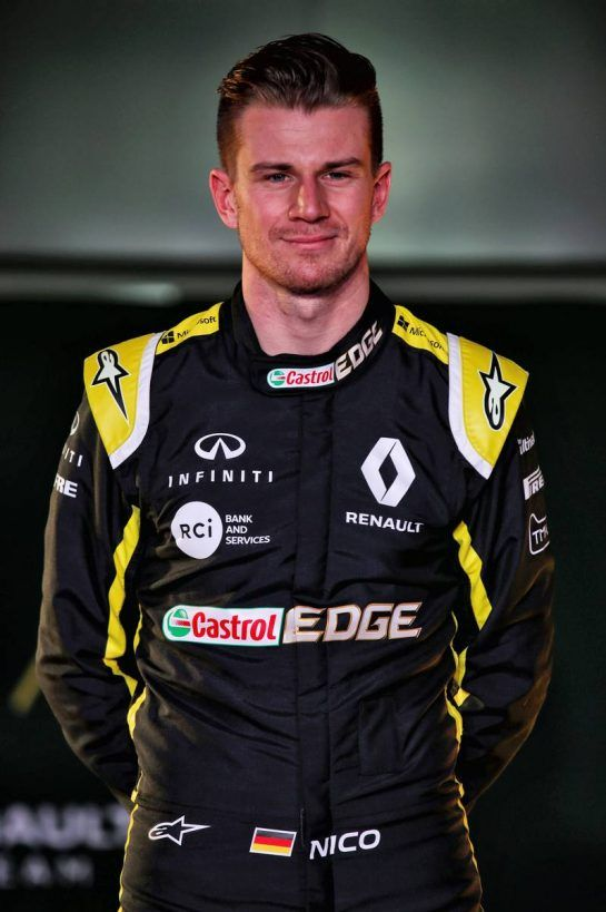 Nico Hulkenberg (GER) Renault Sport F1 Team. 12.02.2019. Renault Sport F1 Team RS19 Launch, Enstone England. Tuesday. - www.xpbimages.com, EMail: requests@xpbimages.com - copy of publication required for printed pictures. Every used picture is fee-liable. © Copyright: Batchelor / XPB Images