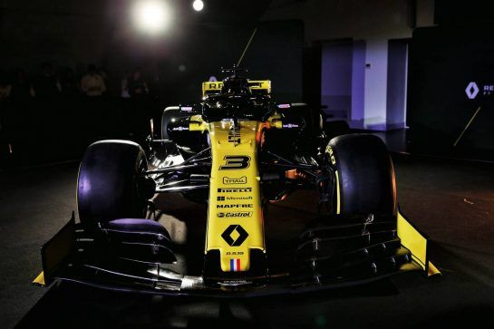 The Renault Sport F1 Team RS19. 12.02.2019. Renault Sport F1 Team RS19 Launch, Enstone England. Tuesday. - www.xpbimages.com, EMail: requests@xpbimages.com - copy of publication required for printed pictures. Every used picture is fee-liable. © Copyright: Batchelor / XPB Images