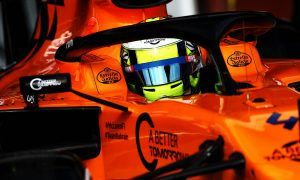 Norris happy to add to McLaren's 'laps, mileage and reliability'