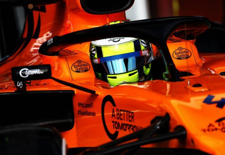 McLaren's Norris delighted with confidence-boosting day