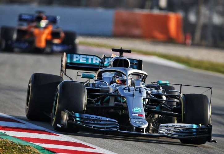 Hamilton suspects Ferrari began 2019 auto earlier than Mercedes