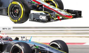 A closer look at the McLaren MP4-30
