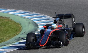 Alonso pushing McLaren on