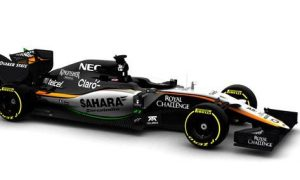 Force India releases image of 2015 car
