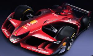 Ferrari unveils concept F1 car images