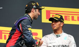 Hamilton and Ricciardo up for Laureus awards