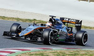 Force India VJM08 breaks cover