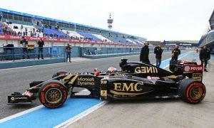 Lotus finally emerges at Jerez