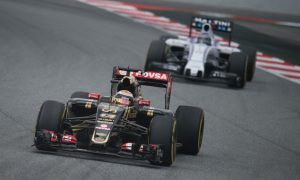 Maldonado impressed by Lotus drivability