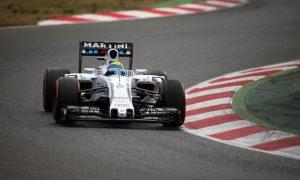 Massa buoyed by Williams pace