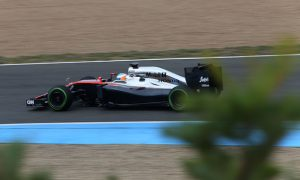 McLaren-Honda on track at Barcelona