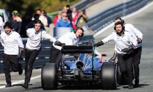 Test issues delay McLaren development