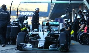 Wolff hails 'best' first day