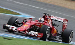 Vettel fastest again on day two