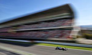 Who ran furthest in pre-season testing at Barcelona?