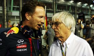 Ecclestone supports Horner's call for equalisation