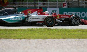 Ferrari pace shocks Hamilton