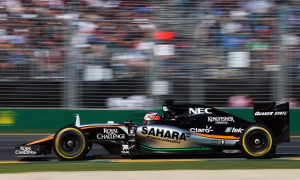 Force India duo happy with double point finish