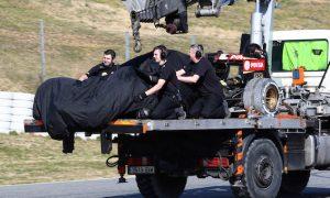 Maldonado crash due to brake issue
