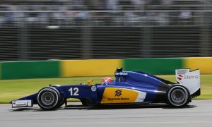 Nasr aiming for points on F1 debut