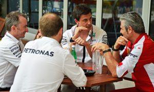 Mercedes: Ferrari win 'a good wake-up call'